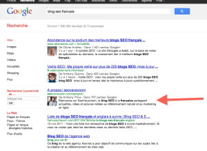 photo de profil google authorship dans les SERPs
